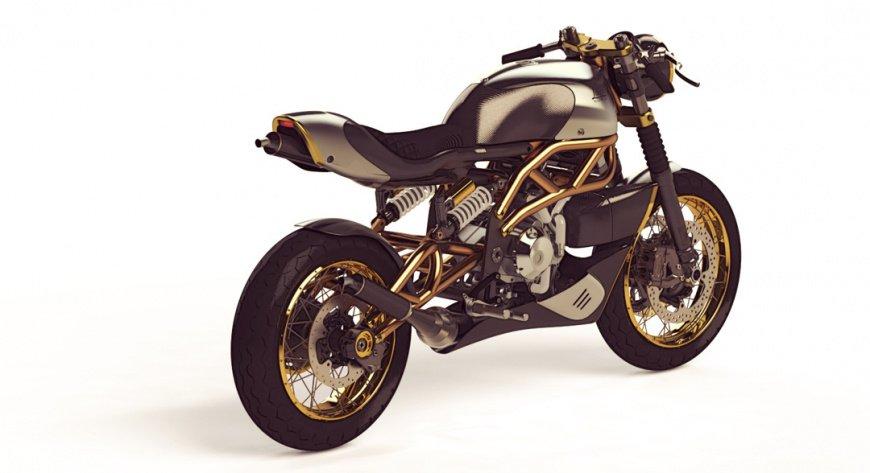 Представили маленький мотоцикл Langen Motorcycles 2-Stroke
