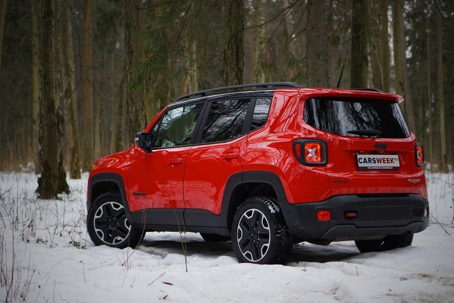 Тест-драйв Jeep Renegade: самый маленький и самый интересный
