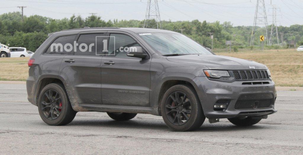 ВНью-Йорк привезут новый полноприводный джип Jeep Grand Cherokee Trackhawk