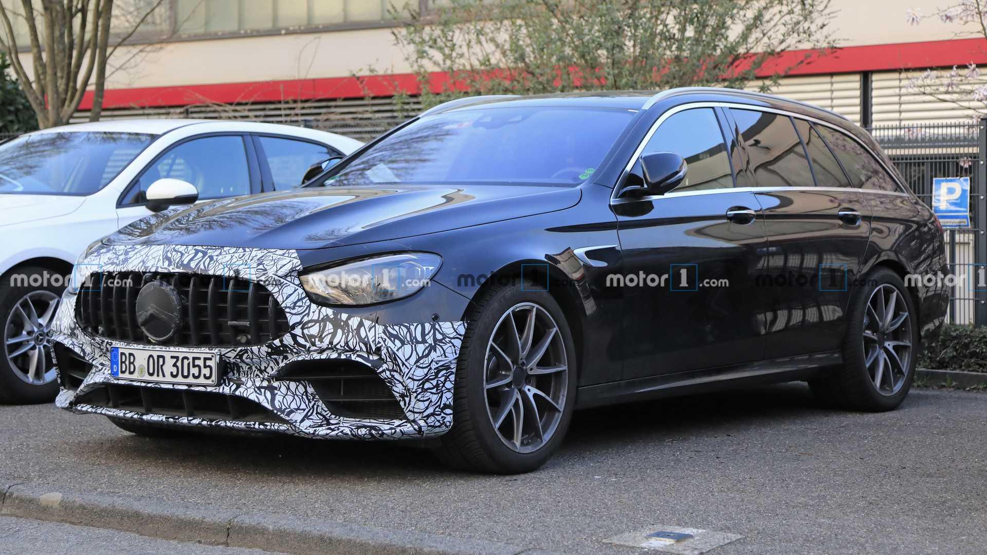 Обновленный Mercedes-AMG E63 дебютирует в конце апреля