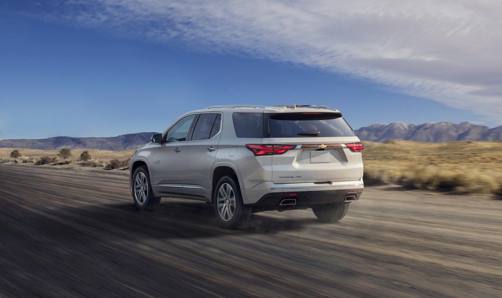 Обновленный кроссовер Chevrolet Traverse появится в 2021 году