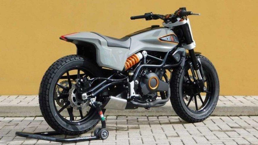 Benelli 302 становится концептом уличного трекера Harley XR338