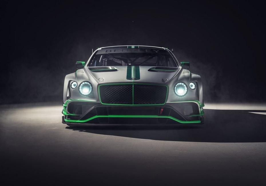 Bentley представила гоночное купе continental GT3 новой генерации
