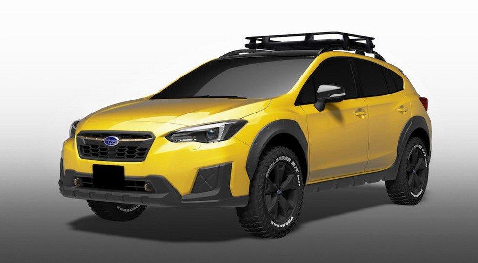 Субару представит вТокио экстремальный седан WRX STI S208