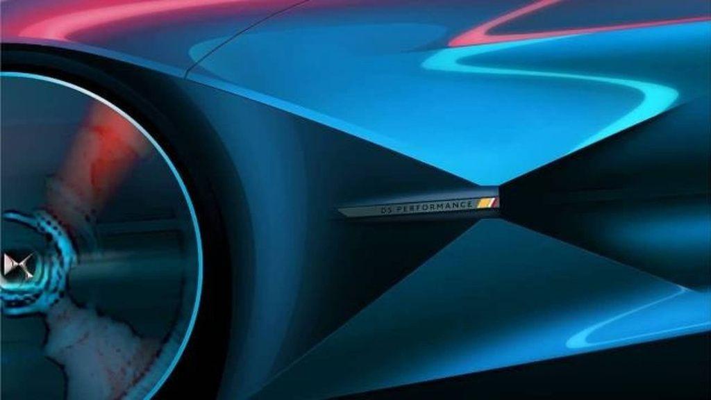 DS обнародовал тизер нового концепта DSX E-Tense 5