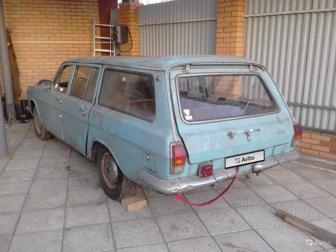 В продаже появилась дизельная «Волга» ГАЗ-24-77