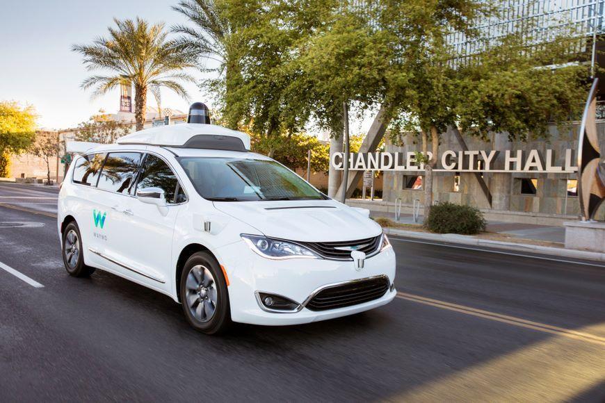 Разработчик технологии автопилота Waymo получит 62 тысячи авто Chrysler Pacifica