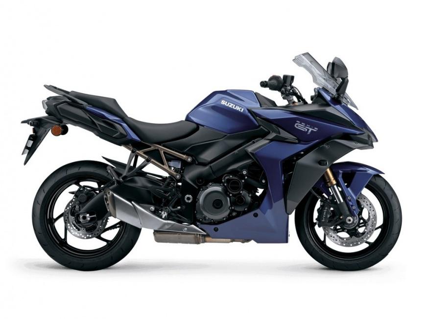 Suzuki представила спортивный туристический GSX-S1000GT для скоростных круизов