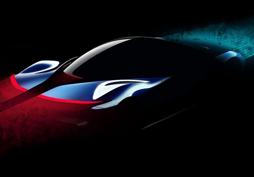 Pininfarina показала натизерах 2000-сильный электрокар PF0