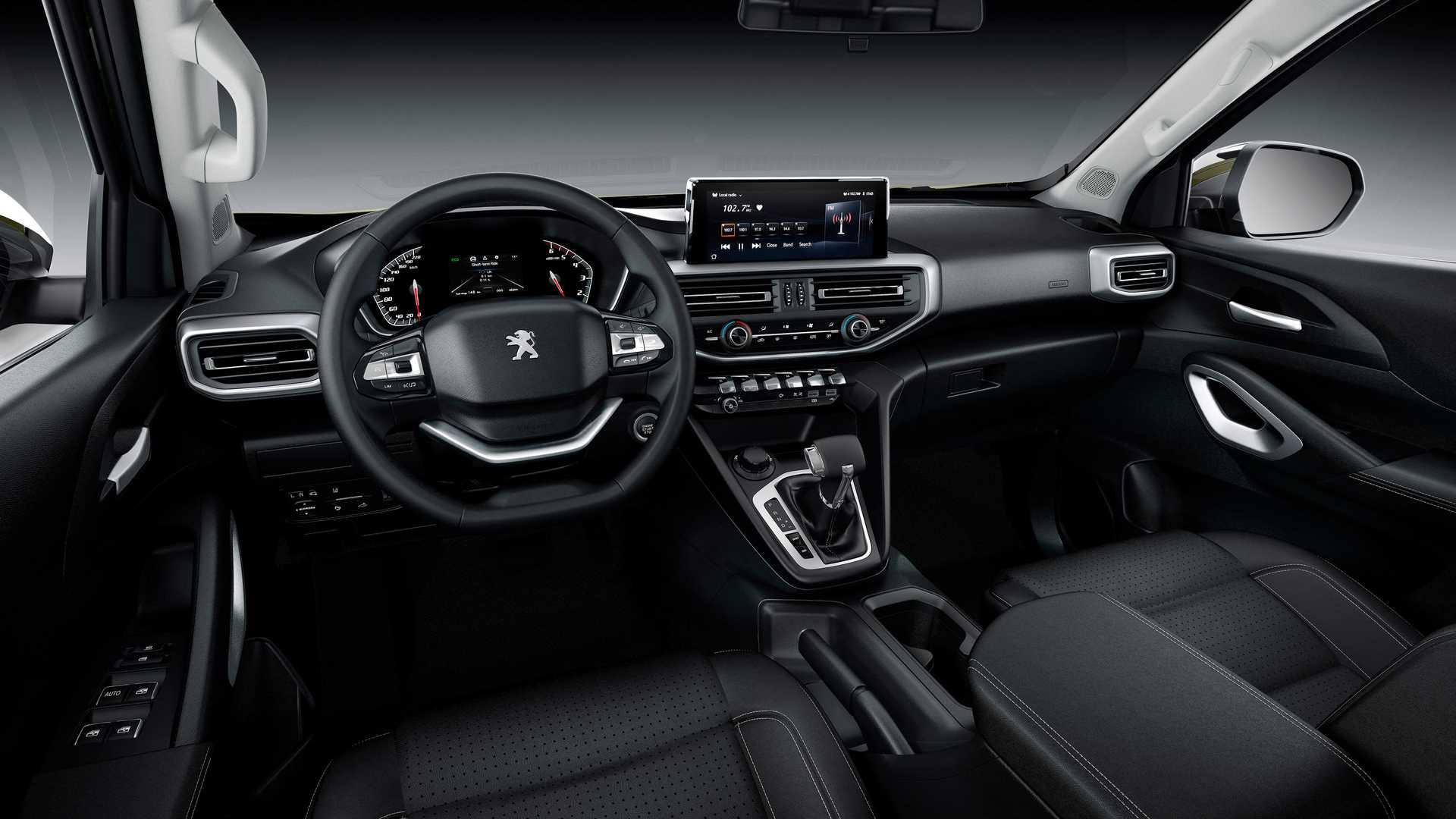 Peugeot рассказала о своем новом пикапе Landtrek
