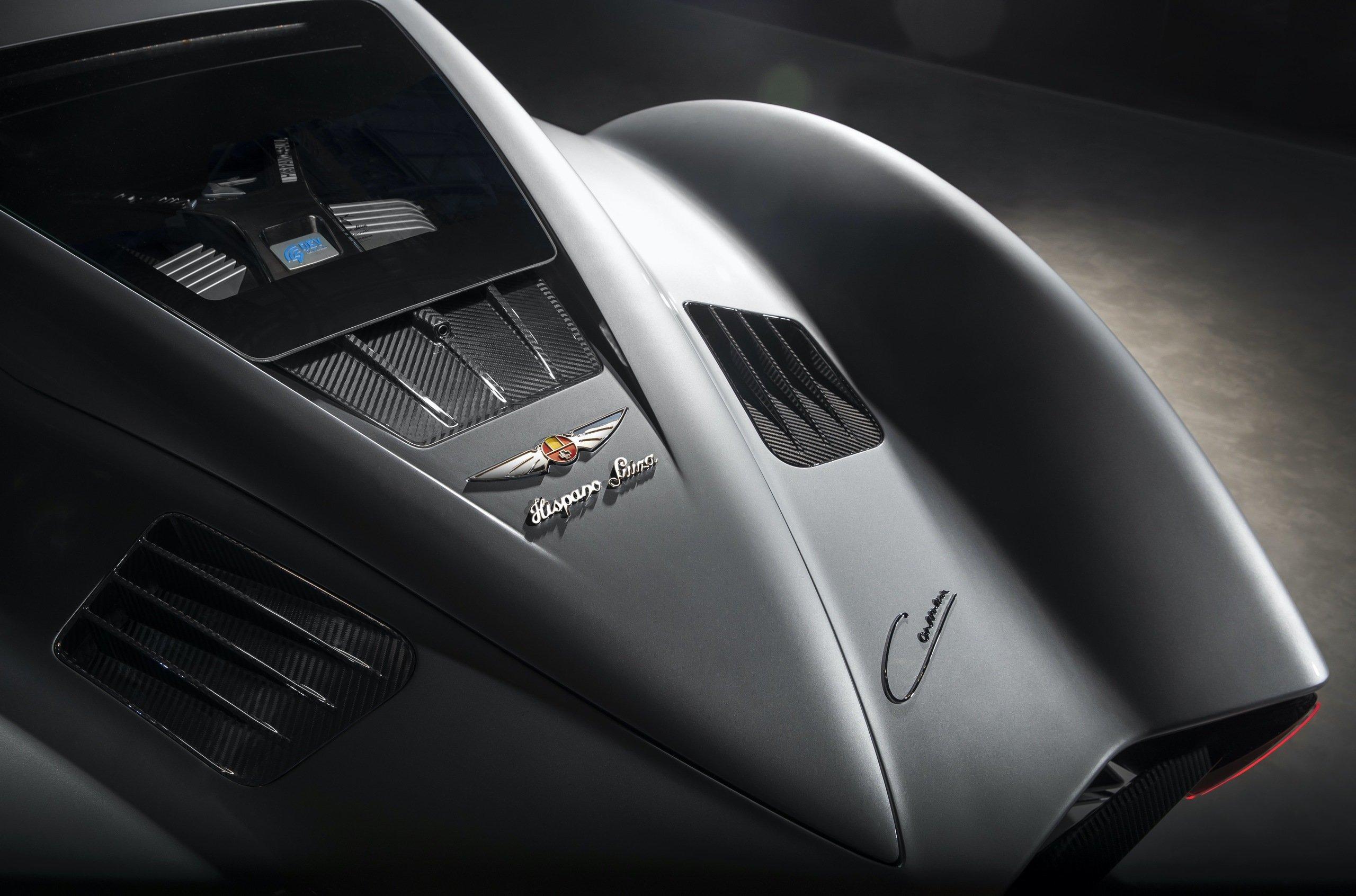 Hispano Suiza представила «заряженную» вариацию 1019-сильного электромобиля Carmen