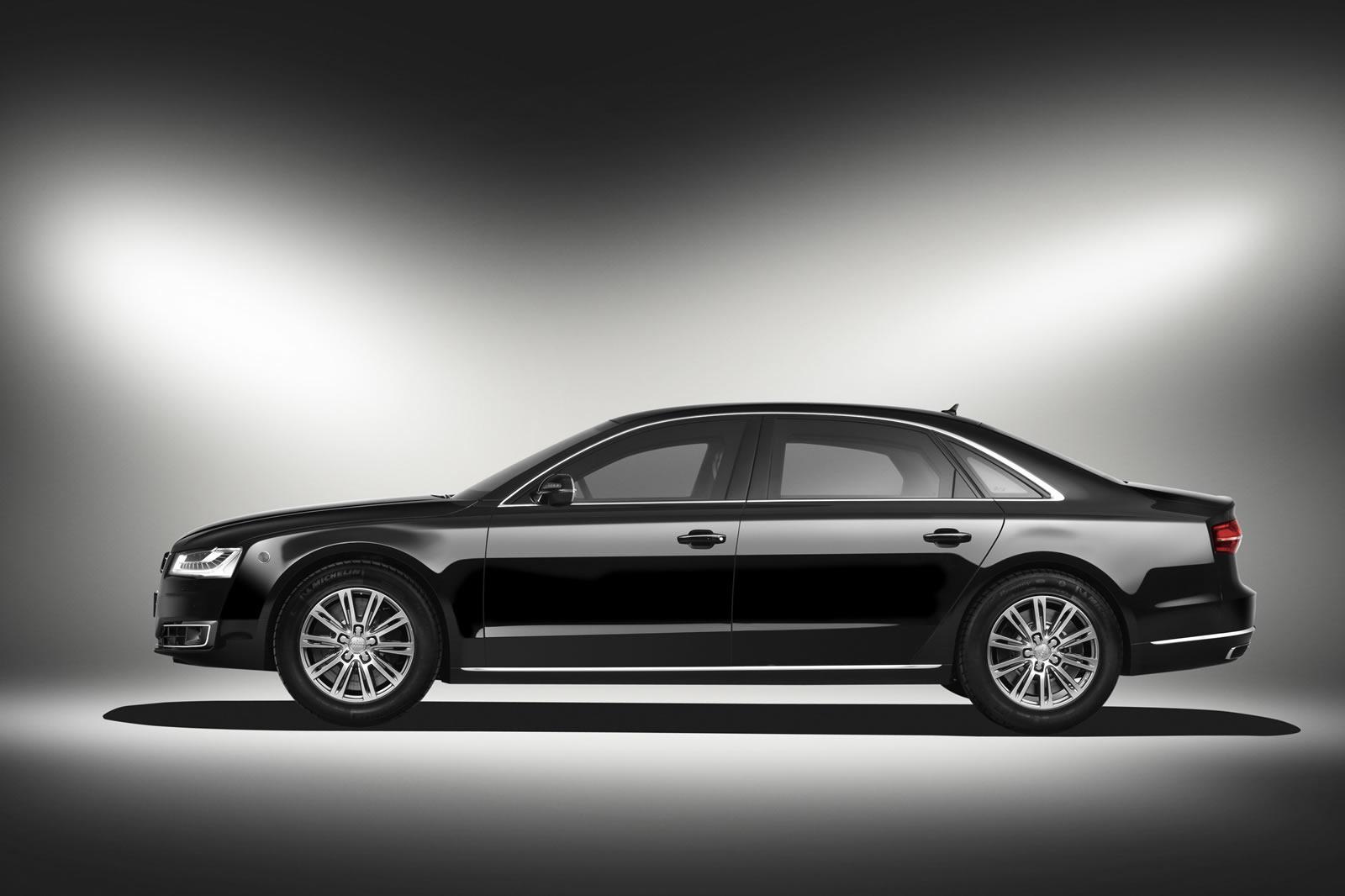 Росстандарт рассекретил характеристики новой бронированной Audi
