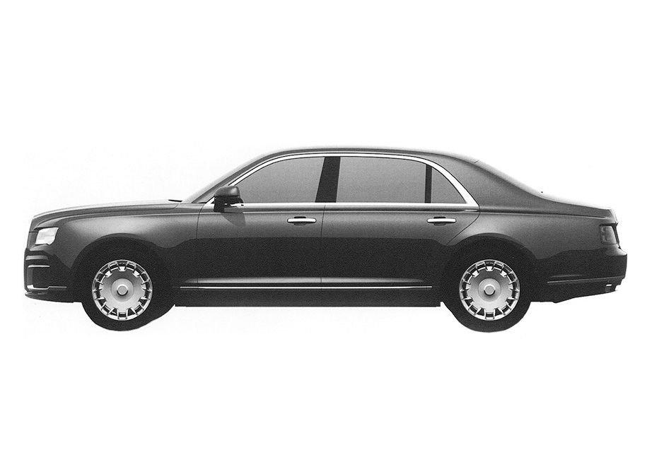 Размещен заключительный дизайн седана изпроекта «Кортеж»