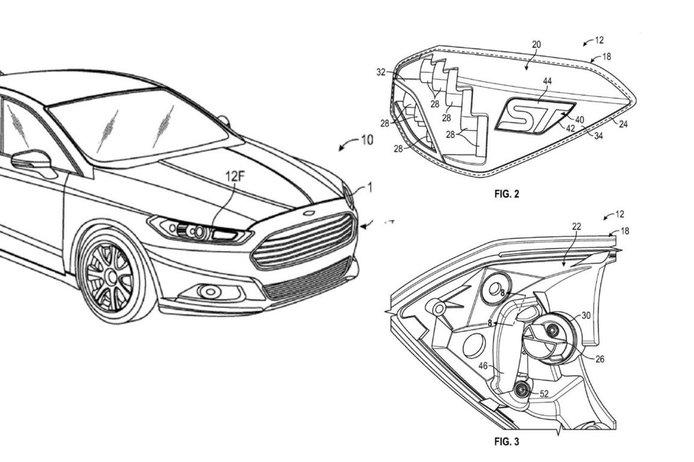 Рассекречены настраиваемые фары Ford из-за утечки патента