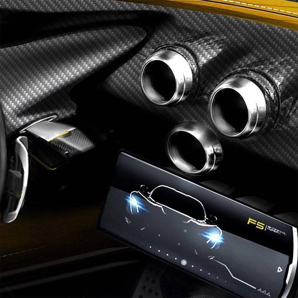ВHennessey показали руль и панель устройств гиперкара Venom F5