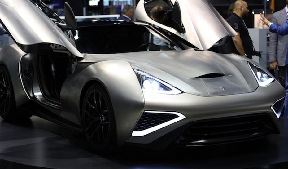 Размещена видеозапись нового дорогостоящего суперкара Icona Vulcano Titanium