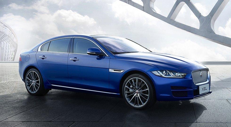 Растянутая версия седана Jaguar XEL