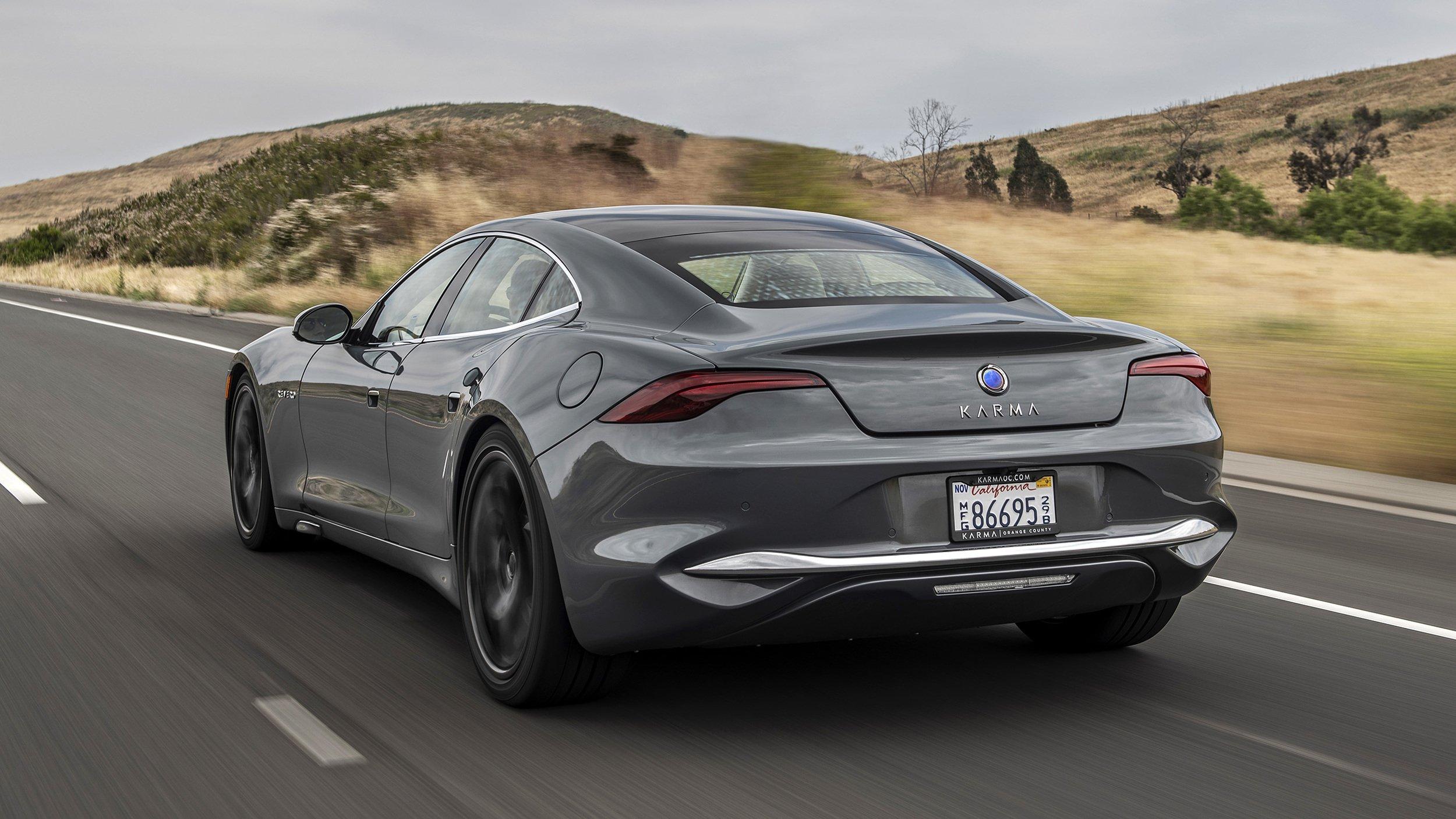Выйдет еще один конкурент Tesla Model S