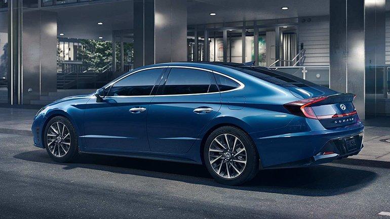 Hyundai обновила бизнес-седан Sonata