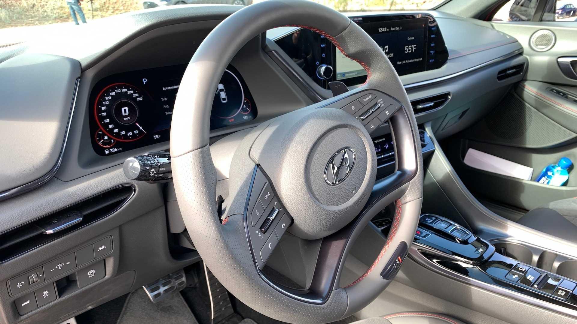 Высокопроизводительный седан Hyundai Sonata N-Line 2020 дебютирует в середине мая?