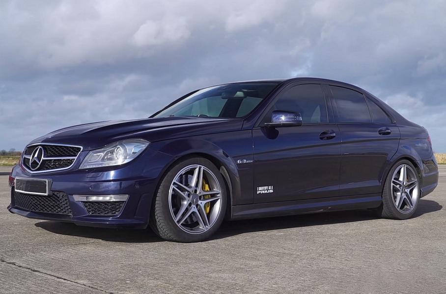 Audi RS4, BMW M3 и Mercedes-Benz C63 AMG вывели на дрэг