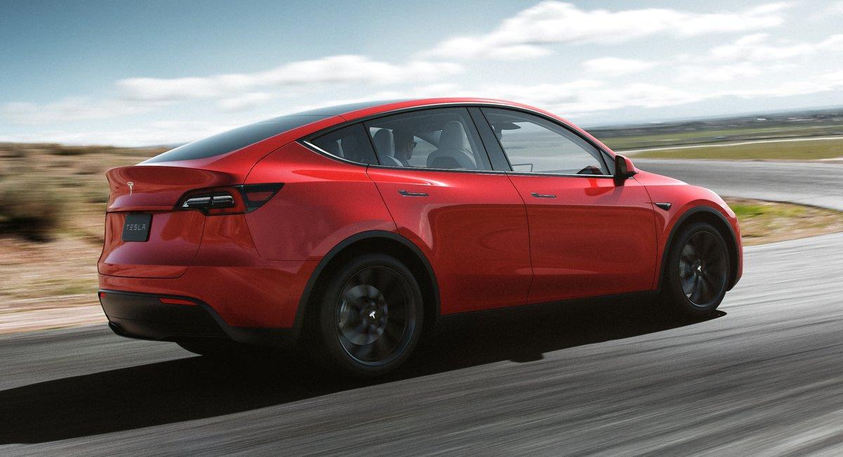 Стал известен реальный запас хода нового Tesla Model Y