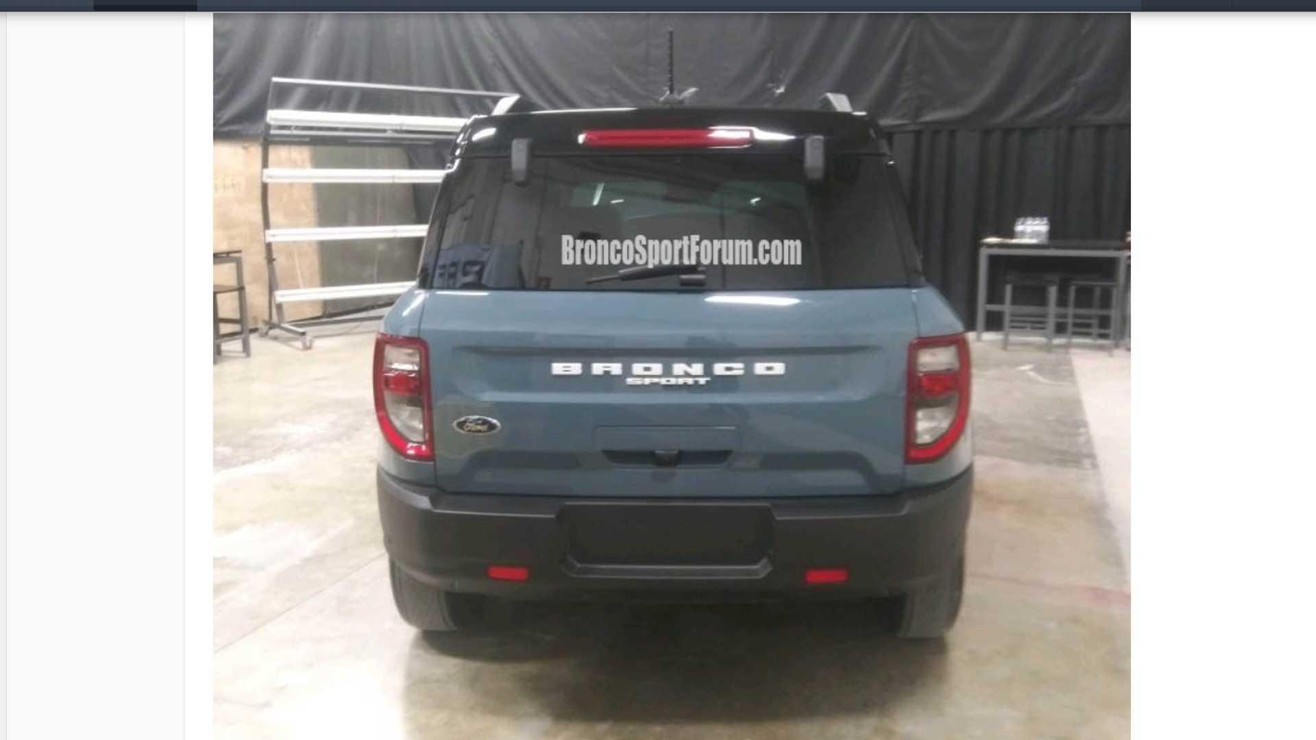 Стали известны комплектации возрожденного внедорожника Ford Bronco Sport 2021