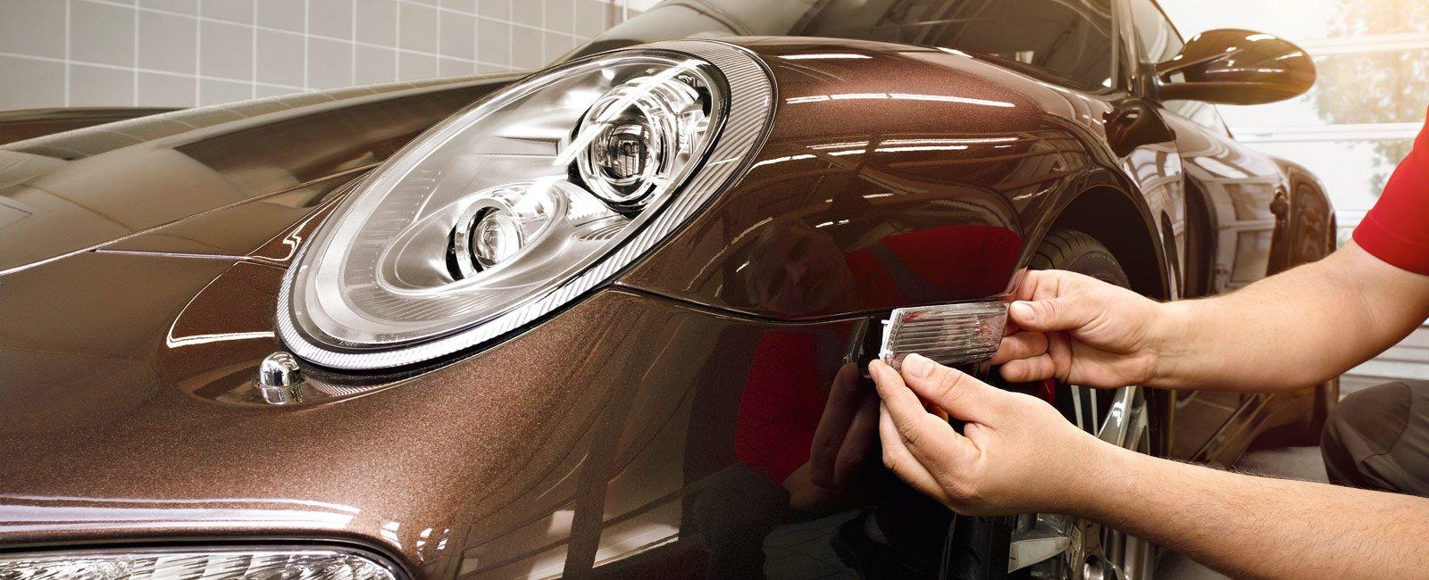 Как Porsche борется с производителями фальшивых деталей?