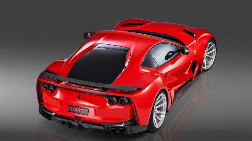 Novitec опять представили сильно модифицированный Ferrari 812