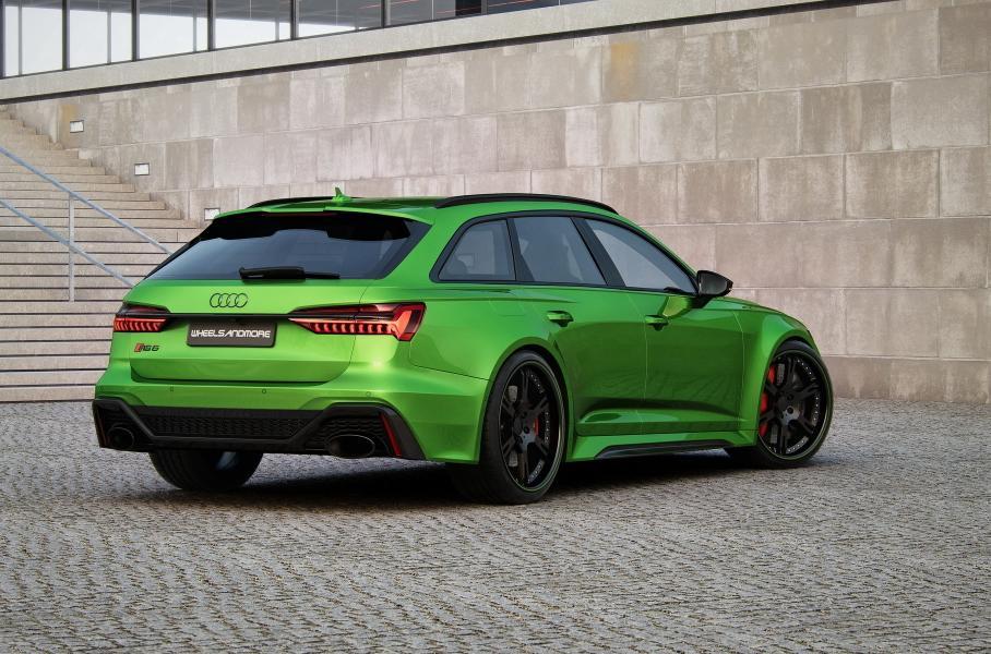 Мощность нового суперуниверсал Audi RS6 увеличили до 1010 сил и 1250 Нм