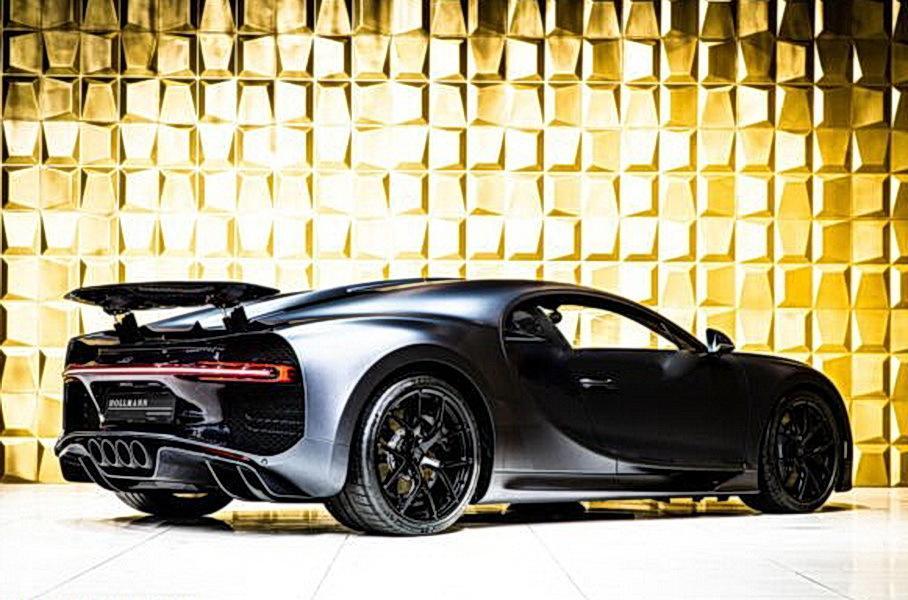 Подержанный Bugatti Chiron продают за 300 млн рублей