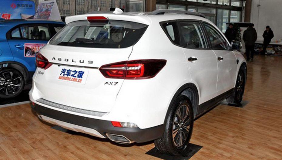 Dongfeng озвучила цены на улучшенный кроссовер AX7