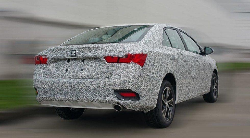 Zotye запустила втестовый период обновленную версию седана Z300