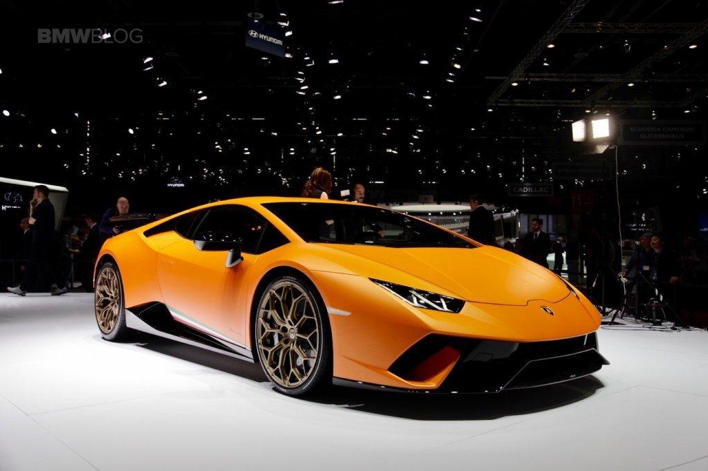 Новый тип Lamborghini Huracan получит управляемые задние колёса