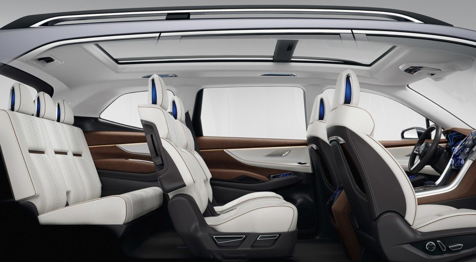 Концепт Subaru Ascent Concept салон