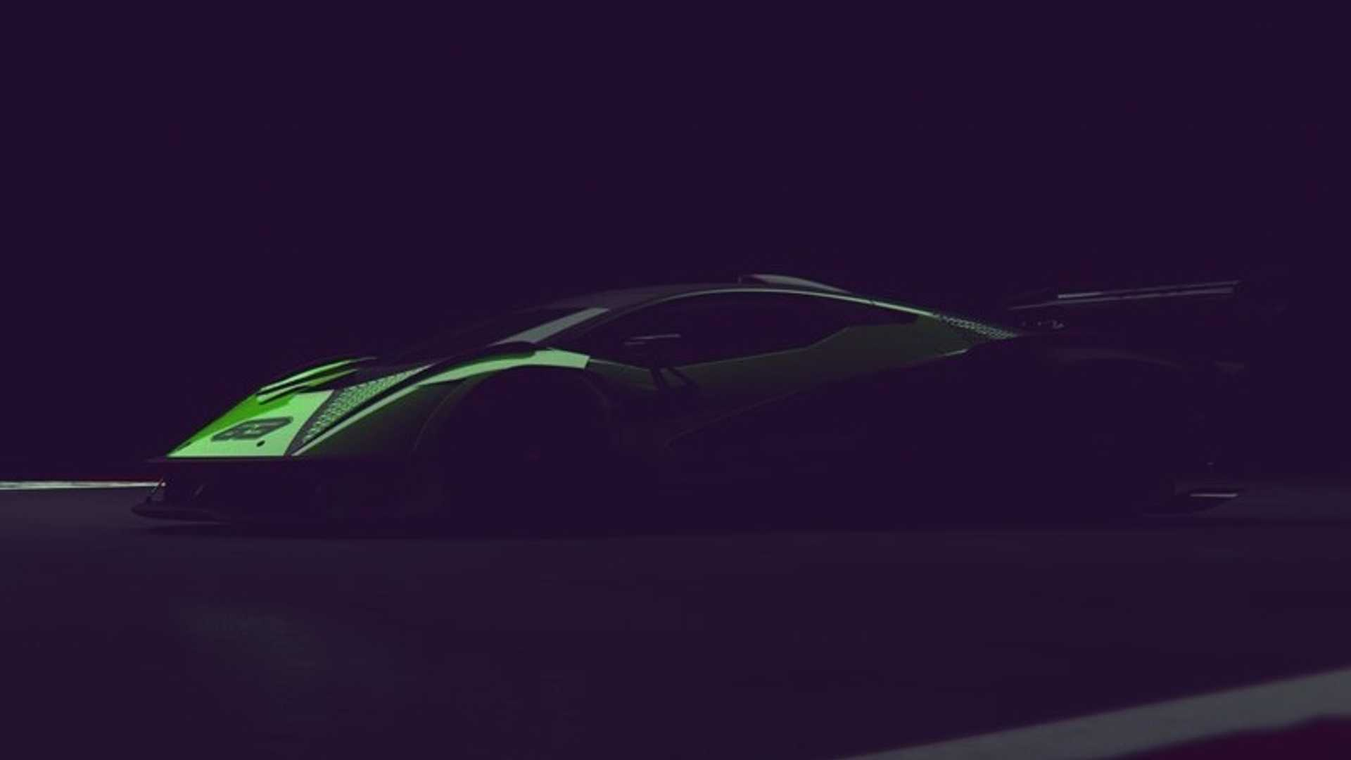 Lamborghini опубликовала тизер своего нового гиперкара