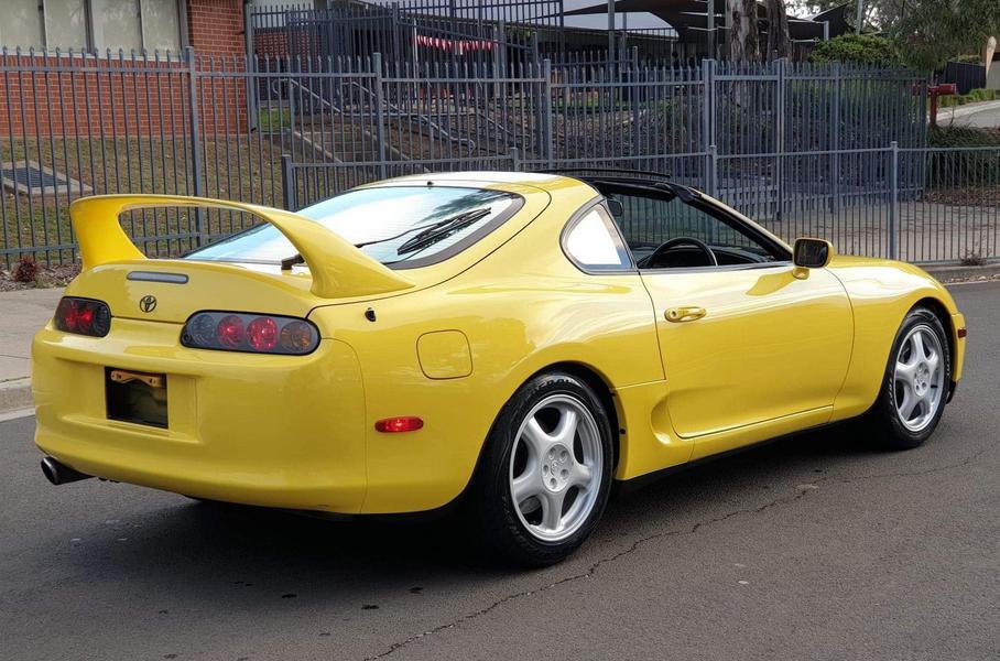 На продажу выставили одну из самых редких вариаций Toyota Supra