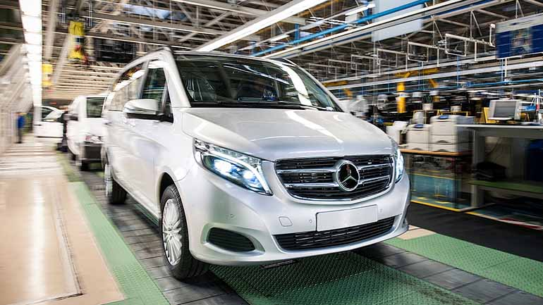 Рабочие остановили завод Mercedes-Benz в Испании из-за коронавируса