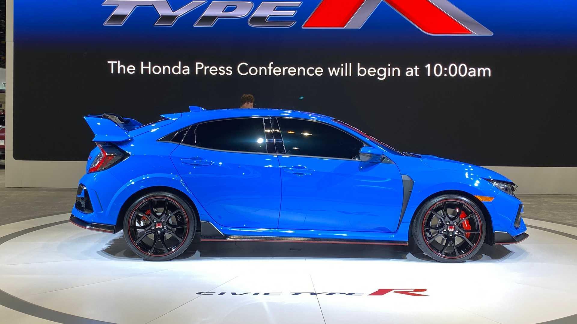 Honda Civic Type R останется единственным в своем роде