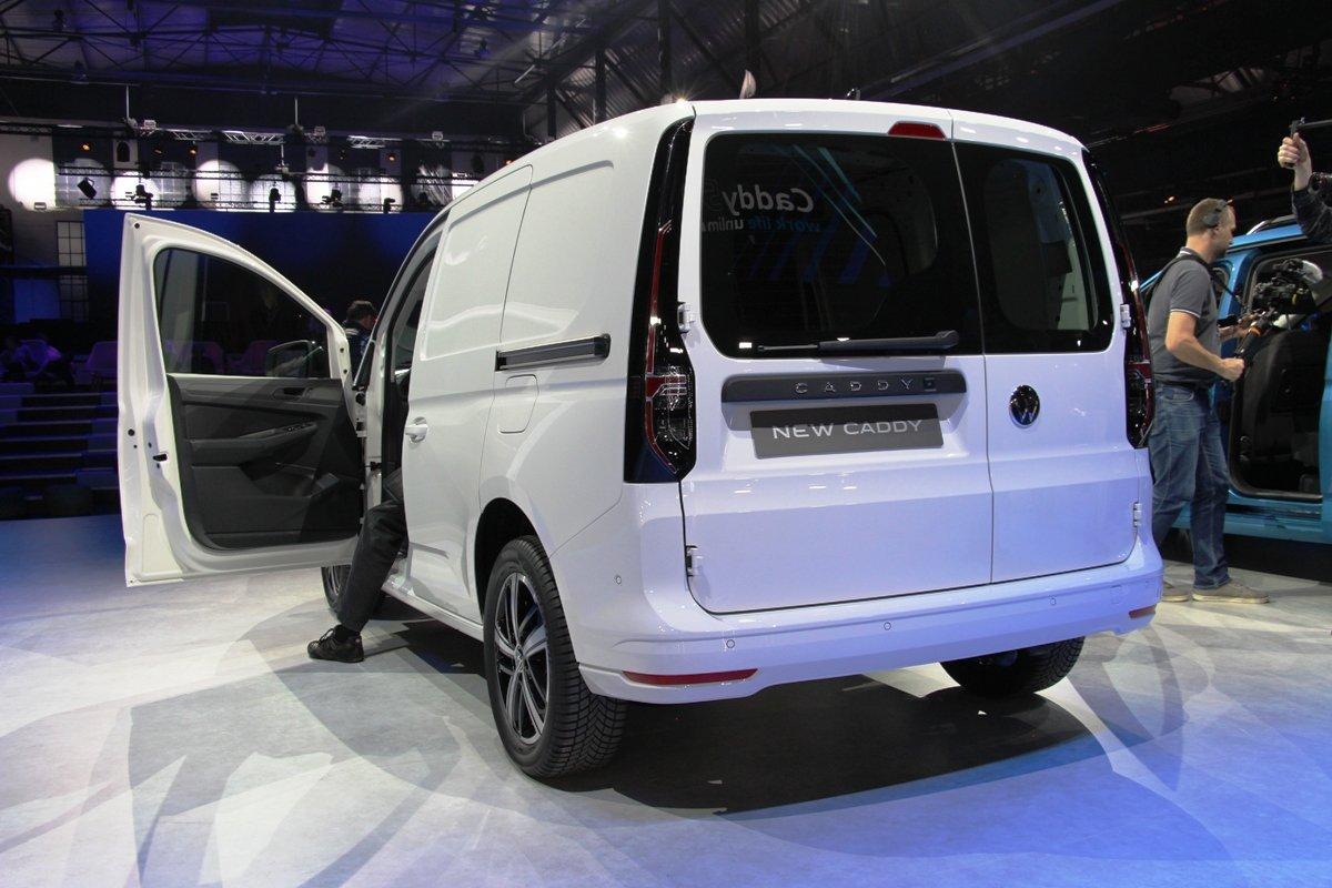 В Германии показали Volkswagen Caddy новой генерации