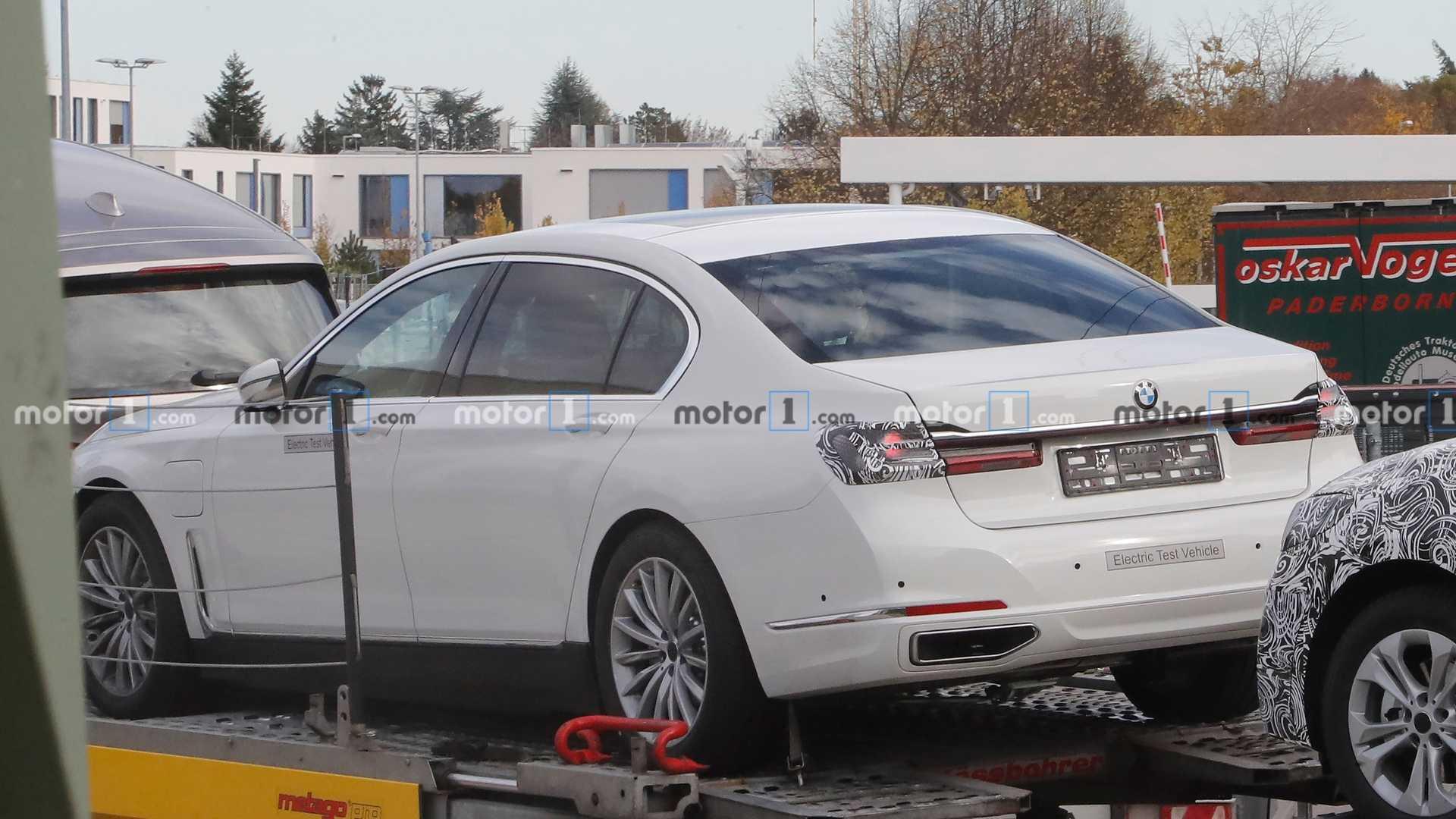 Самый мощный BMW 7 Series следующего поколения станет электрическим
