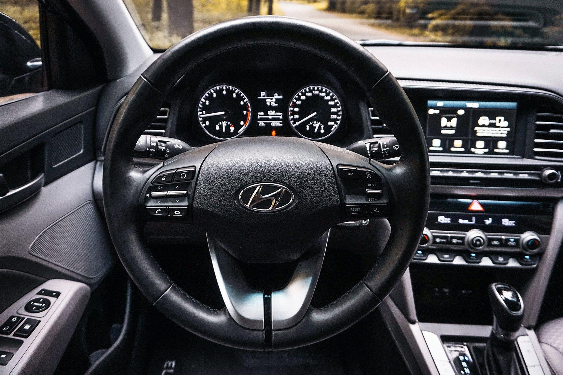 Тест Hyundai Elantra 2019