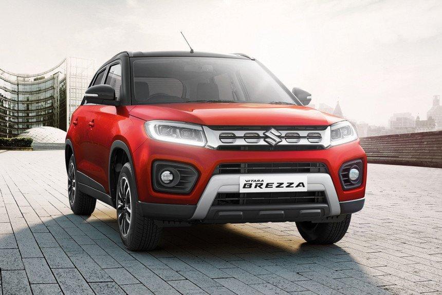 Toyota готовит дебют перелицованной версии бестселлера Suzuki Vitara Brezza