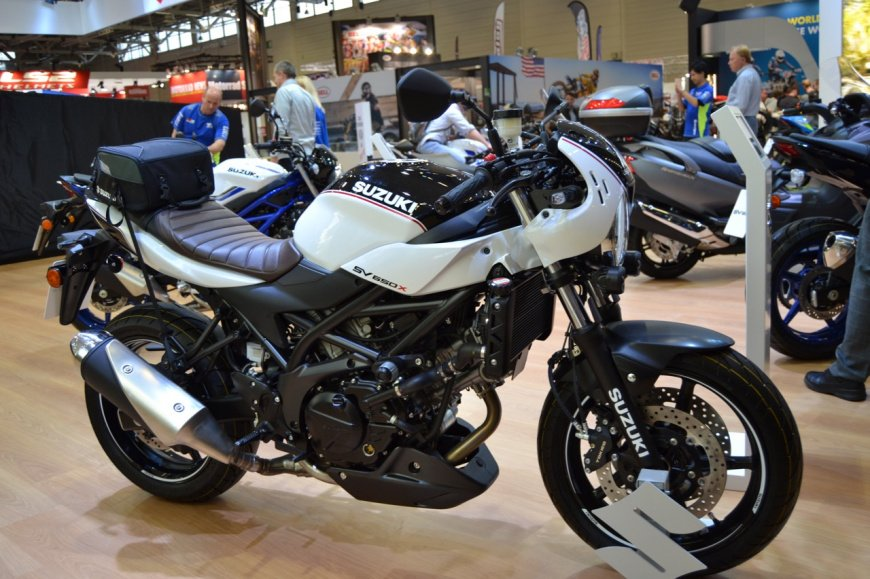 Suzuki рассказал о мотоциклах SV650/V-Strom 650 версии 2021 модельного года