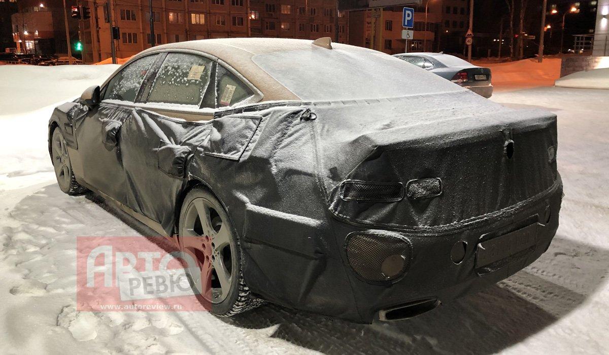 Genesis G80 второй генерации заметили в РФ