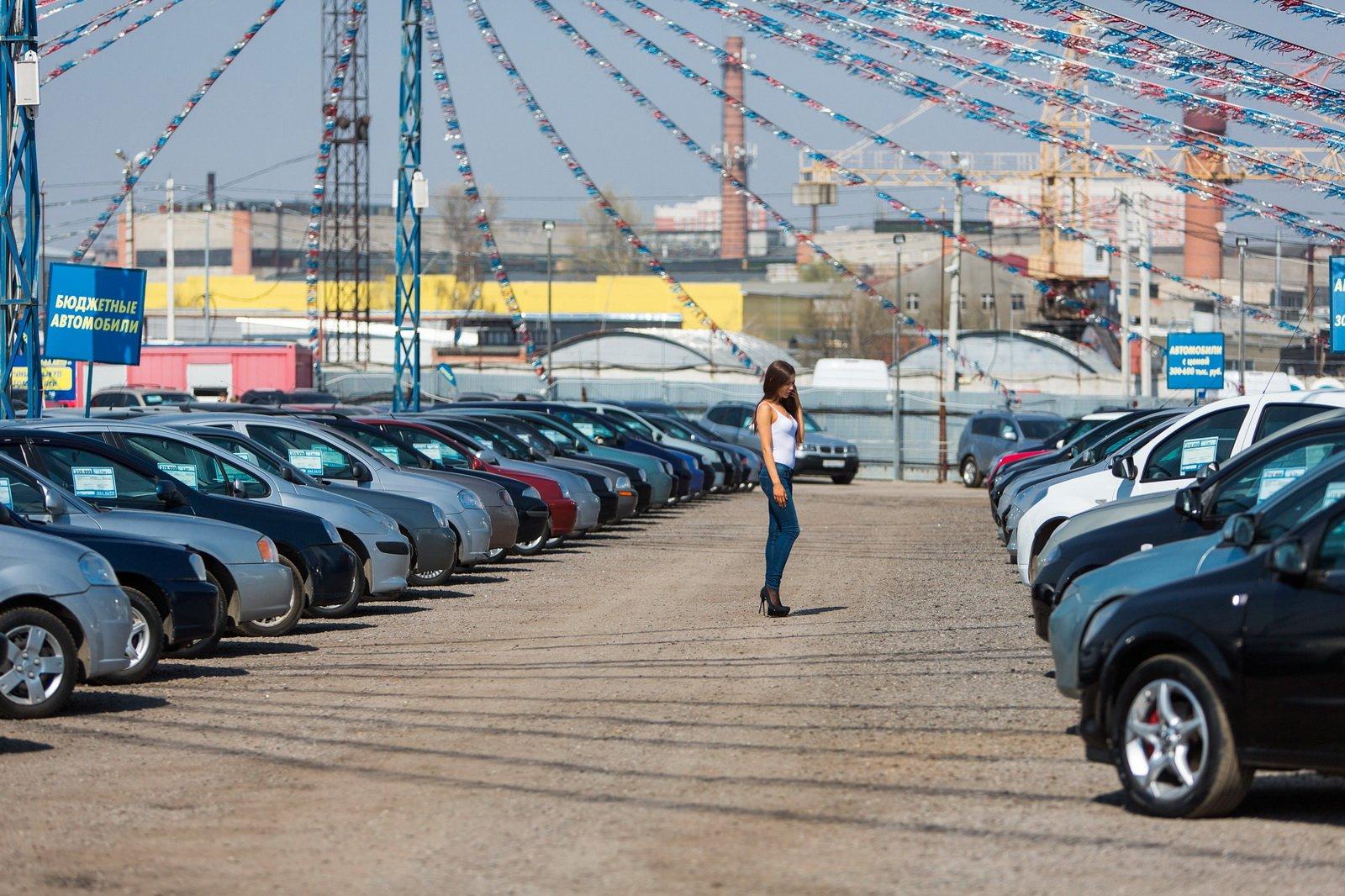 В России подорожала средняя цена автомобилей с пробегом