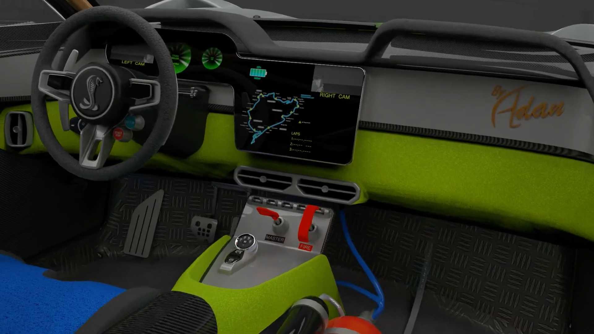 Представлено электрическое исполнение культового Ford Mustang Shelby