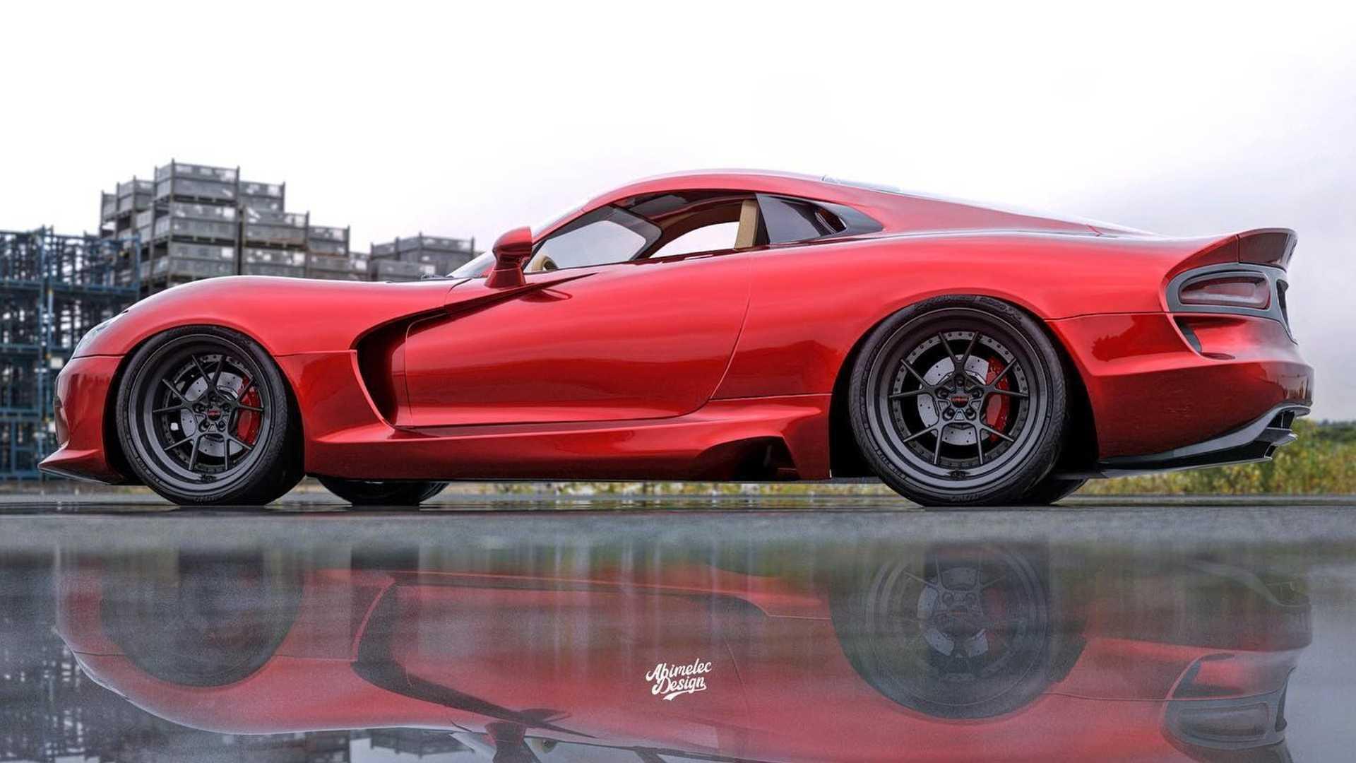 В сети продемонстрировали среднемоторный Dodge Viper