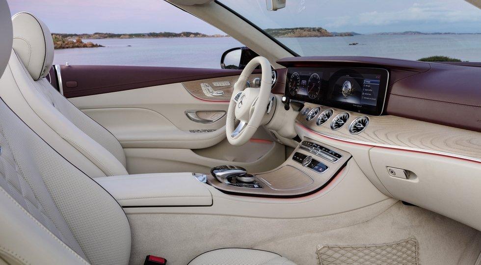 Benz запустил производство нового кабриолета E-Class