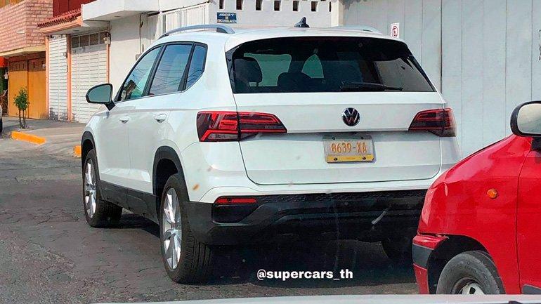 Volkswagen Tarek впервые заметили без камуфляжа